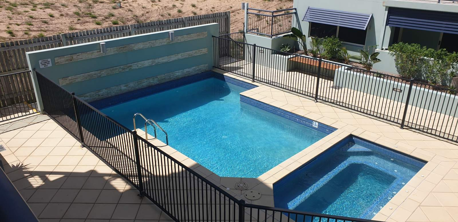 Communal Pool and BBQ